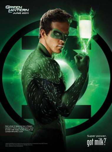 Green Lantern Got Milk?