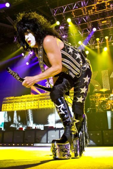 KISS in Abbotsford, June 27 2011. Ted Reckoning photo