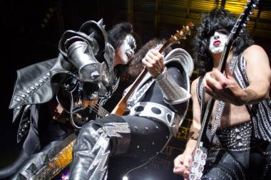 KISS at the Abbotsford Entertainment and Sports Centre, June 27 2011. Ted Reckoning photo