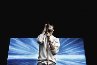 Kid Cudi at Deer Lake Park, Burnaby, June 16 2011. Braden Paul photo