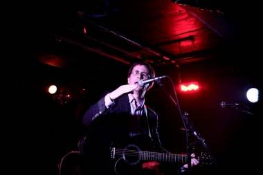 John Darnielle with the Mountain Goats at the Biltmore Cabaret, Vancouver, June 18 2011. Anja Weber photo
