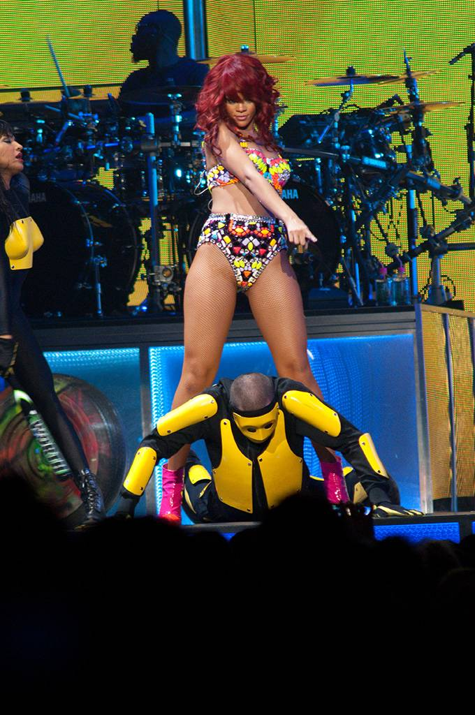 Rihanna at Rogers Arena, Vancouver, June 24 2011. Ashley Tanasiychuk photo