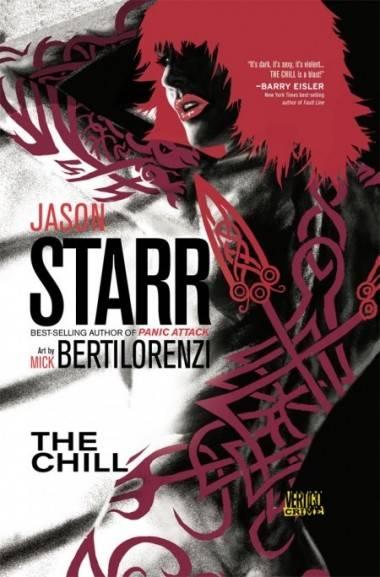 Cover of the graphic novel The Chill by Jason Starr (Vertigo).