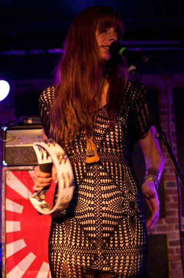 Alex Gehring with Ringo Deathstarr at Electric Owl, Vancouver, June 21 2011. Ashley Tanasiychuk photo