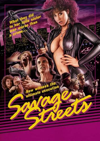 Savage Street movie poster by Tom Hodge.