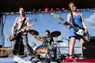 The Thermals at Sasquatch! May 28 2011. Jade Dempsey photo