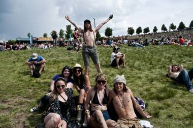 Vancouverites at Sasquatch!, 2011. Jade Dempsey photo