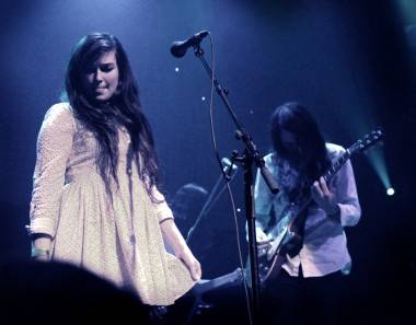 Cults perform at Venue