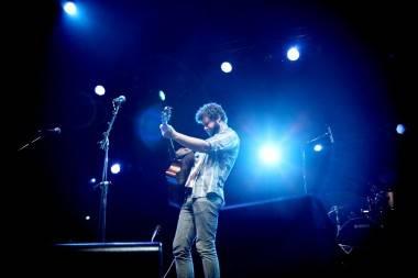 Dan Mangan at Summer Live in Stanley Park, July 10 2011. Anja Weber photo