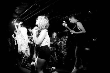 Austra perform at the Biltmore