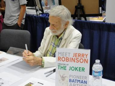 Jerry Robinson at the 2011 San Diego Comic-Con, July 22 2011.