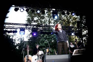 Neko Case at Stanley Park, Vancouver, July 9 2011. Anja Weber photo