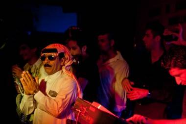 Omar Souleyman at Bar None, Vancouver, July 5 2011. Sia Amini photos.