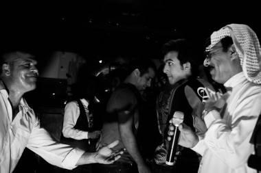 Omar Souleyman at Bar None, Vancouver, July 5 2011. Sia Amini photos.