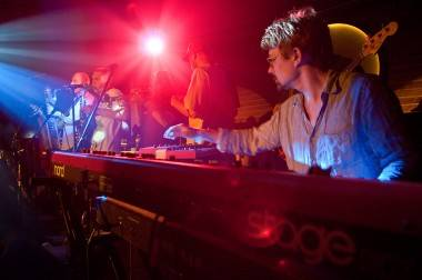 The Herbaliser performs live at Fortune Sound Club
