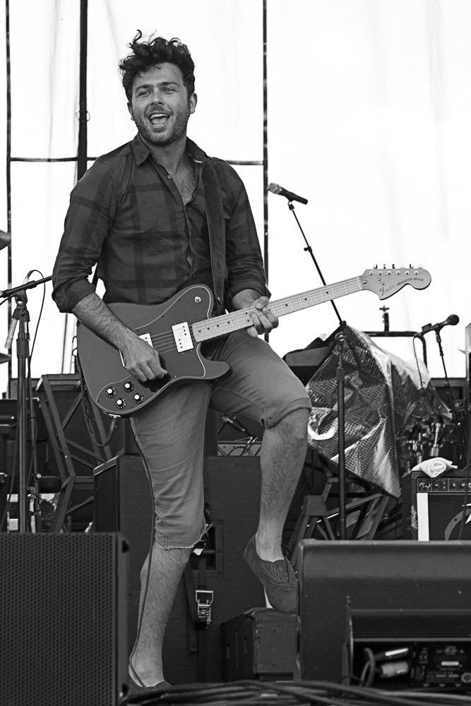Arkells at Edgefest 11, Downsview Park Toronto July 9 2011. Heather Orr photo