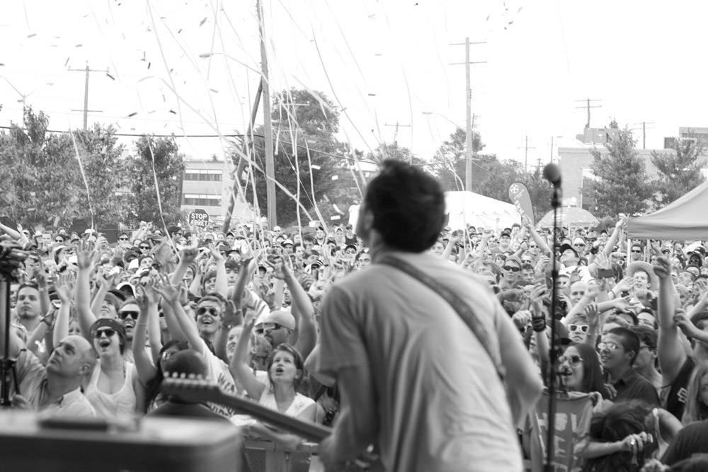 Hollerado at Edgefest 11, Downsview Park Toronto July 9 2011. Heather Orr photo