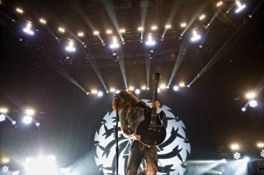 Soundgarden at Rogers Arena, Vancouver, Friday, July 29, 2011. Photo by Matt Neumann