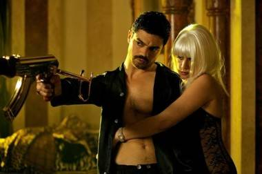 Dominic Cooper and Ludivine Sagnier in The Devil's Double (2011).