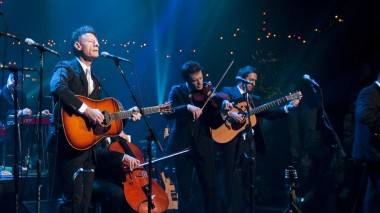 Lyle Lovett and His Large Band on Austin City Limits, Nov 8 2010.