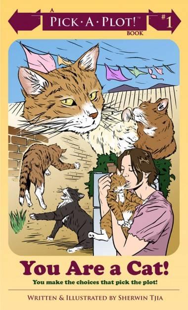 Sherwin Tija's You Are a Cat (Conundrum Press) cover image