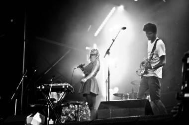 Hey Ocean Live at Squamish Aug 20 2011. Anja Weber photo