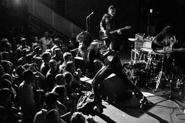 Jon Spencer Blues Explosion at Venue, Vancouver, Aug 16 2011. Ashley Tanasiychuk photo