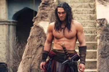 Jason Momoa as Conan (2011).