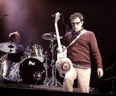 Rivers Cuomo Live at Squamish, Aug 21 2011. Tamara Lee photo