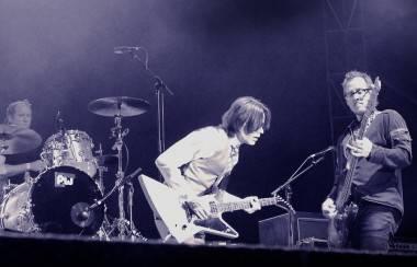 Weezer Live at Squamish, Aug 21 2011. Tamara Lee photo