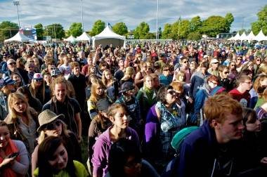 Crowd at Rifflandia