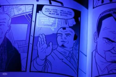 SVK comic book art