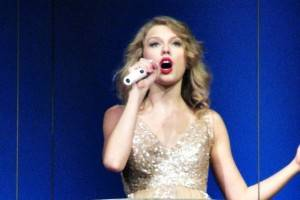 Taylor Swift at Rogers Arena Vancouver