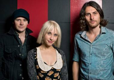 The Joy Formidable at the Rickshaw Theatre, Vancouver, Sept 7 2011. Ryan West photo