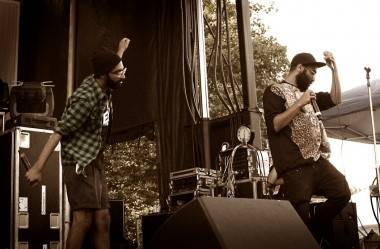 Das Racist at Bumbershoot, Seattle, Sept 4 2011. Tamara Lee photo