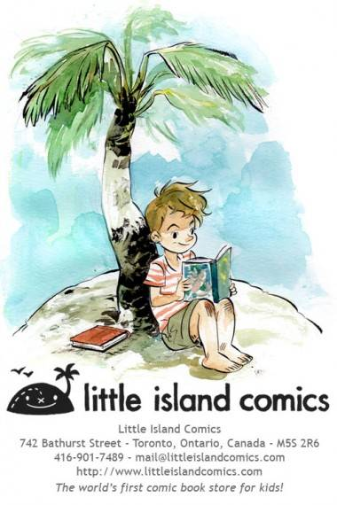 Little Island Comics poster