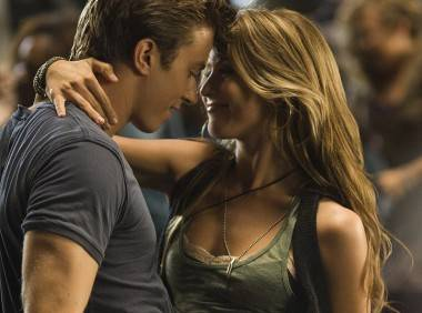 Kenny Wormold and Julianne Hough in Footloose 2011