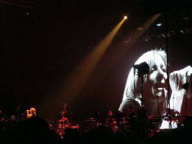 Portishead live at the WaMu Theatre