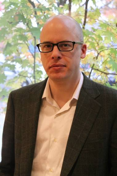 Lev Grossman, author of The Magician King.