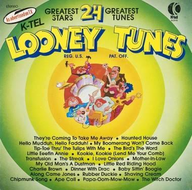 Looney Tunes K-Tel album cover