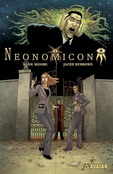Jacen Burrows cover art Neonomicon