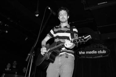 Frank Turner at the Media Club 2010