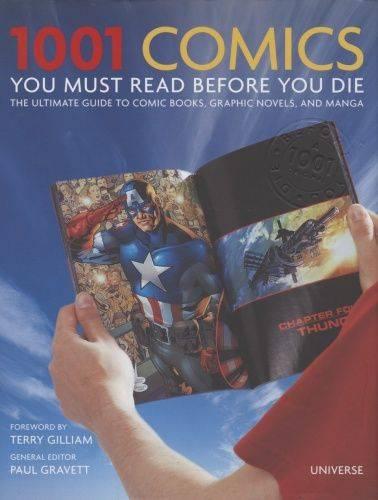 1001 Comics book cover
