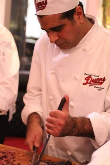 Dunn's Famous chef Adnan Mizra photo