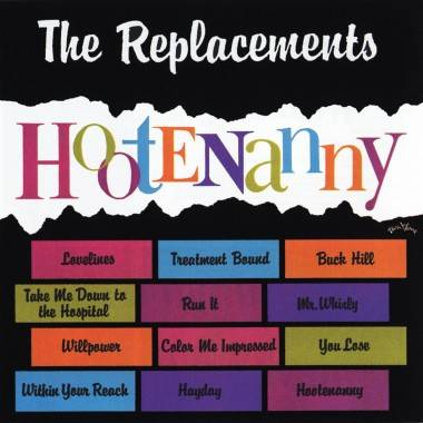 The Replacements' Hootenanny album cover