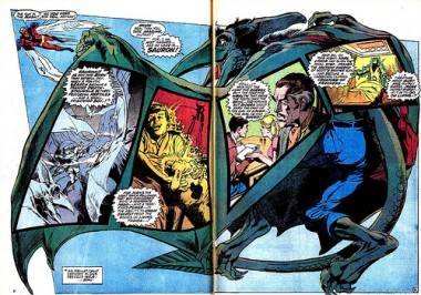 Neal Adams art in X-Men.