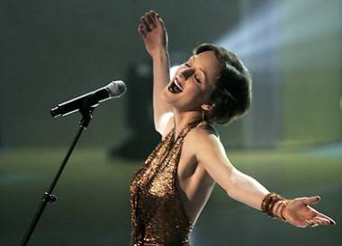 Sarah Slean at the Canadian Songwriters Hall of Fame Gala 2005