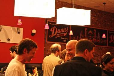 Dunn's Famous in Vancouver interior