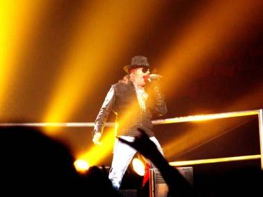 Guns N Roses at Pacific Coliseum photo 2011
