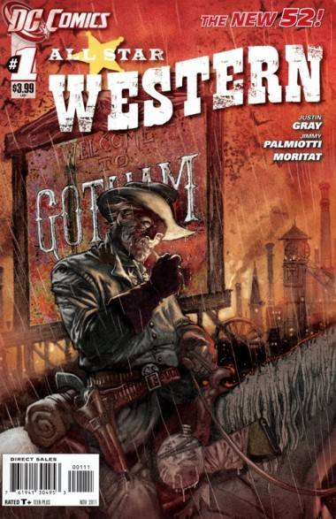 All-Star Western comic book cover